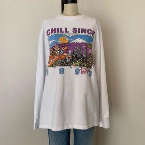 Brandy Melville oversized chill since T-shirt